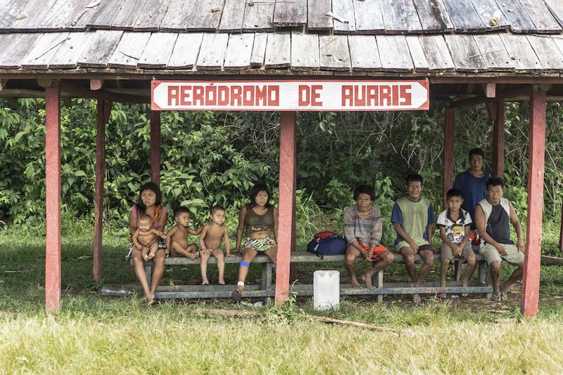 Aeródromo da Auaris, Região de Auaris, TI Yanomami, Roraima. Rogério Assis / ISA, 2018.