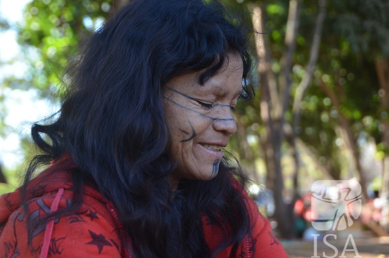 Kerexu Mirim Guarani. Foto: Silvia de Melo Futada/ISA, 2019.