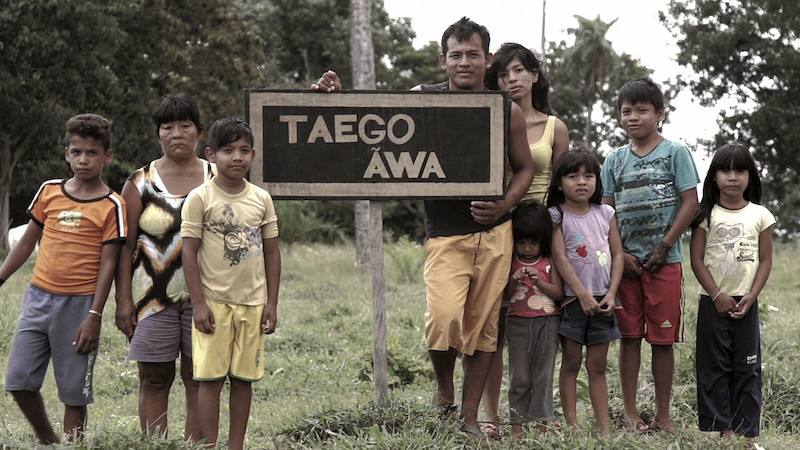 Foto: Cena do filme Taego Ãwa. Capão de Areia,Vinícius Berger, 2015