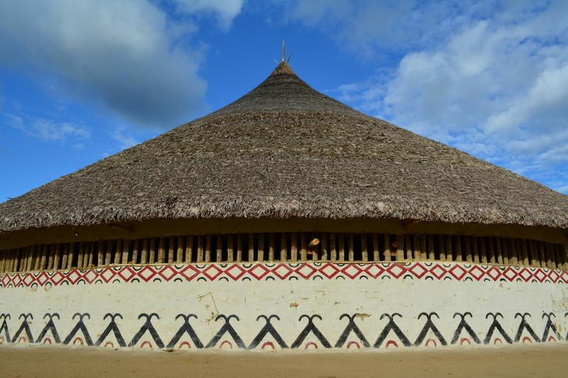 Casa redonda (''ättä''). Fuduuwaadunnha. TI Yanomami, Roraima. Majoí Gongora/Museu do Índio-FUNAI / Povo Ye'kwana, 2018.