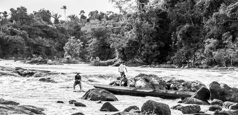 Viagem no Rio Uraricoera, TI Yanomami, Roraima. Guilherme Gnipper Trevisan, 2014.